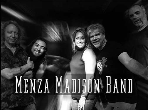 Menza Madison Blues Band Sat. 01/11/2020 8:30