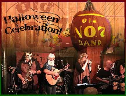 Old Number 7 Band Halloween Sat. 10/28/2017 8pm