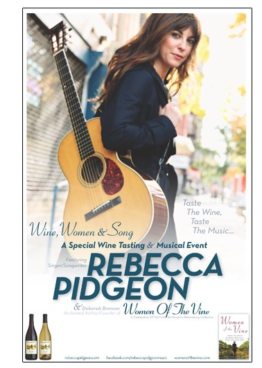 Rebecca Pidgeon Benefit Sun 10/16/2011 7pm