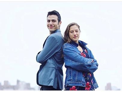 Rosie and Matteo Scher