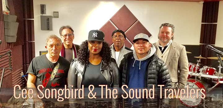 Cee Songbird  And The Sound Travelers Sat. 02/15/2020 8:30