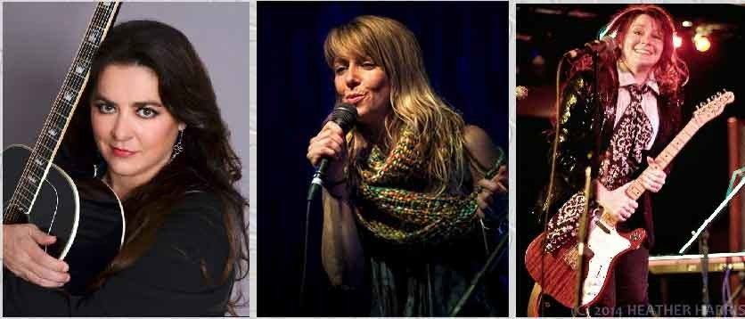 Shelley King, Patrice Pike & Carolyn Wonderland Thurs.04/19/2018 8:00