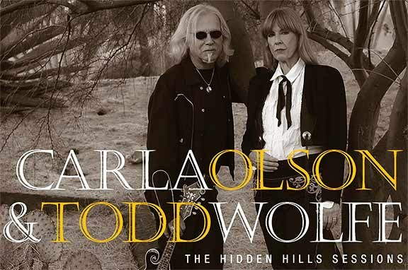 Olson-Wolfe CD Release SATURDAY 05/11/2019 8:00