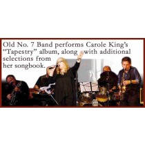 Old No. 7 Band Plays Carol King's Tapestry FRIDAY 09/22/2017 8pm